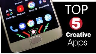 Top 5 Creative Apps for Android 2018 |  You Must Try