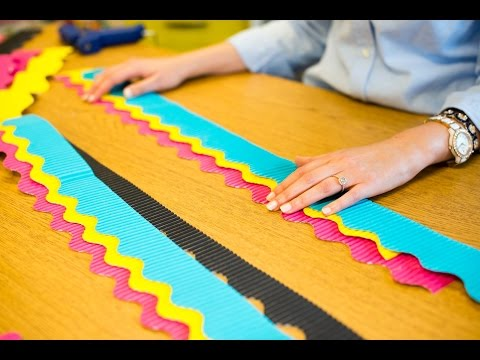 An Easy Way to Layer Borders on Your Classroom Bulletin Boards