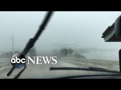 Storm chasers risk their lives to go inside the eye of Hurricane Irma