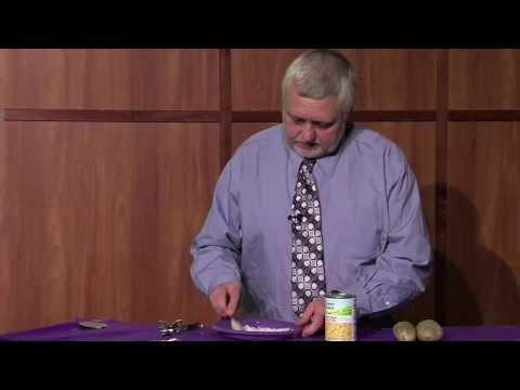 Steven Reed on Weber Cooks  Creamed Corn & Potatoes