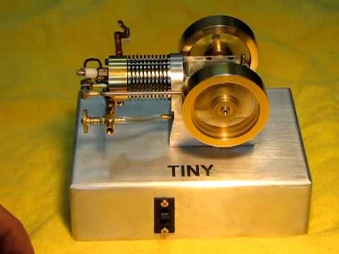 """""""TINY""""  Small 4 stroke internal combustion engine.  2nd Video"""