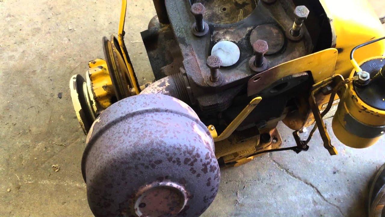 Cub Cadet Model 86 Engine Rebuild Part 1 Remove Kohler