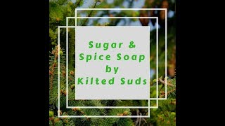 Sugar & Spice Soap - Cold Process Soap with Embeds