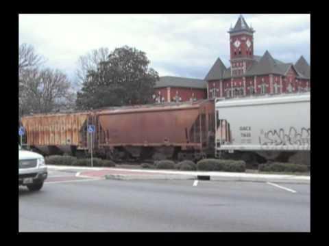 Norfolk Southern mixed freight  In Jonesboro Ga.