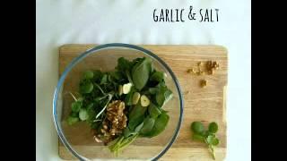 Gluten Free Pasta With Watercress And Walnut Pesto