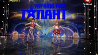 Гимнасты Кирилл Тищенко и Таисия Сухина