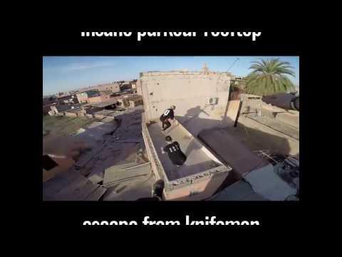 Insane Parkour Escape in marrakech / morocco This is insane!