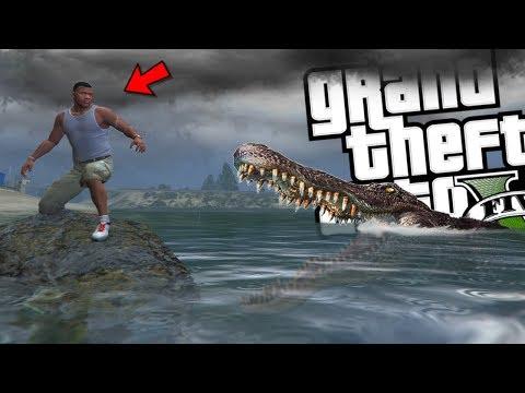 The NEW Crawl MOVIE MOD w/ Alligator Attack (GTA 5 PC Mods Gameplay)