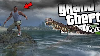 The NEW Crawl MOVIE MOD w/ Alligator Attack (GTA 5 PC Mods Gameplay)