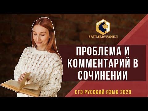 Проблема и комментарий в сочинении ЕГЭ по русскому языку // SATTAROVFAMILY