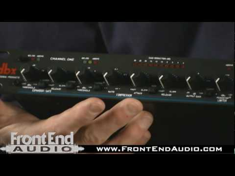 dbx 166XL Dual Compressor Limiter Gate - YouTube