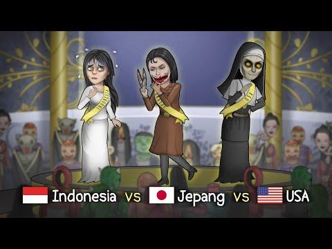 Ketika Kuntilanak Ikut Miss Universe Hantu #HORORKOMEDI   Kartun Lucu, Kartun Hantu, Animasi Horor