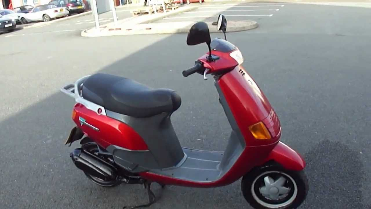 1996 piaggio vespa skipper lx125 125 2 stroke scooter. Black Bedroom Furniture Sets. Home Design Ideas