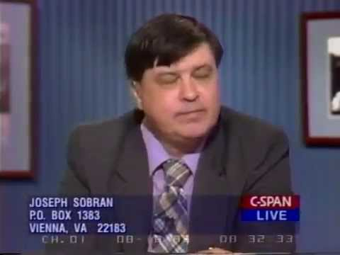 Joe Sobran and David Corn on Washington Journal Friday  - 1995