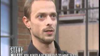 You Asked A 10 Year Old To Have Sex? (The Steve Wilkos Show)