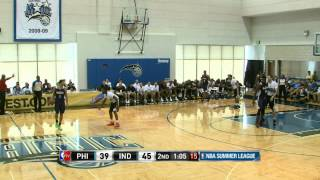 Philadelphia 76ers vs Indiana Pacers Summer League Recap