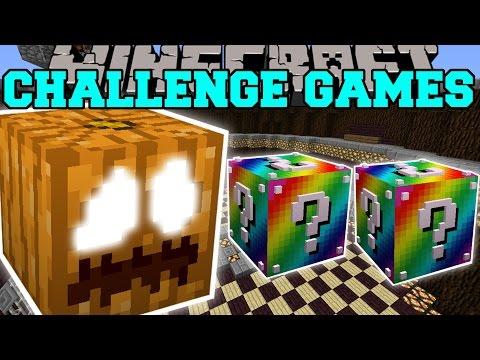 Minecraft: THE GREAT PUMPKIN BEAST CHALLENGE GAMES - Lucky Block Mod - Modded Mini-Game