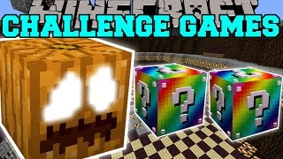 Minecraft: THE GREAT PUMPKIN BEAST CHALLENGE GAMES - Lucky Block Mod - Modded Mini-Game