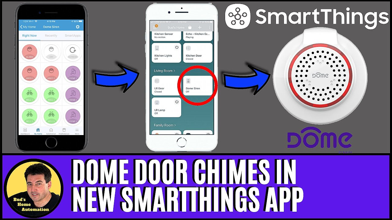Enable Door Chimes in NEW SmartThings App