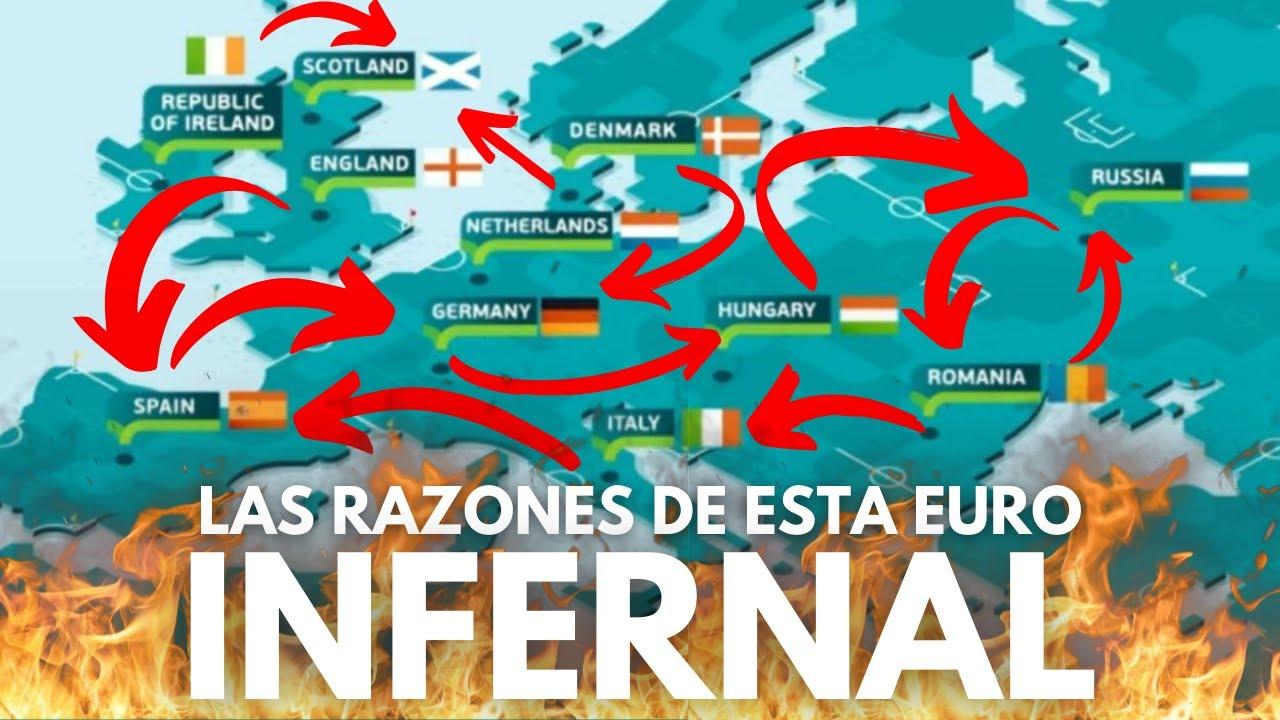 POR QUÉ ES ASÍ EL INFERNAL FORMATO DE LA EUROCOPA 2021