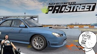 Subaru Impreza WRX STI - НЕ ЕДЕТ??? Need for Speed: ProStreet на руле Fanatec CSL Elite