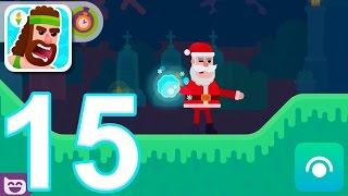 Video Bowmasters - Gameplay Walkthrough Part 15 - New: Santa Claus, Online PvP (iOS) download MP3, 3GP, MP4, WEBM, AVI, FLV Maret 2018