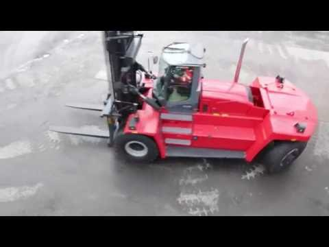 Walk-around video of Kalmar´s Heavy Forklift, DCG180-330