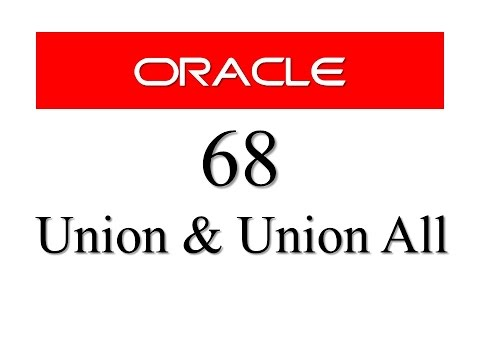 SQL tutorial 68: Union and Union All SQL Set Operator In Oracle Database By RebellionRider