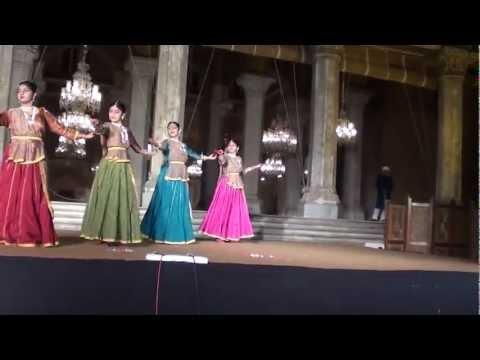 Kathak dance TARANA RAVI SHANKAR Chawmahalla palace