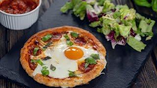 No Yeast Breakfast Pizza