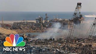Daylight Reveals Full Extent Of Beirut's Horrific Blast | NBC News