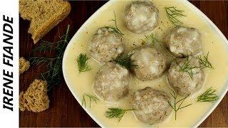 Суп с фрикадельками по - гречески. ЮВАРЛАКЯ с авголемоно