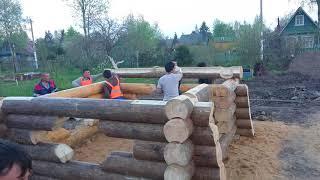 видео Рубленные дома Содействие | Cтроительство рубленных домов и домов из бревна
