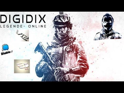 L'Unité des Youtubers - Feat ( B20 , LaFouine , Diablox9 , Mrlev12 , Codjordan23)  - DiGiDiX