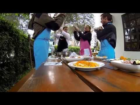 Peru - Lima - Peruvian Cooking Class - Pisco Sour How To (15.07.2014)