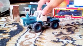 Т-150К - Обзор масштабной модели трактора