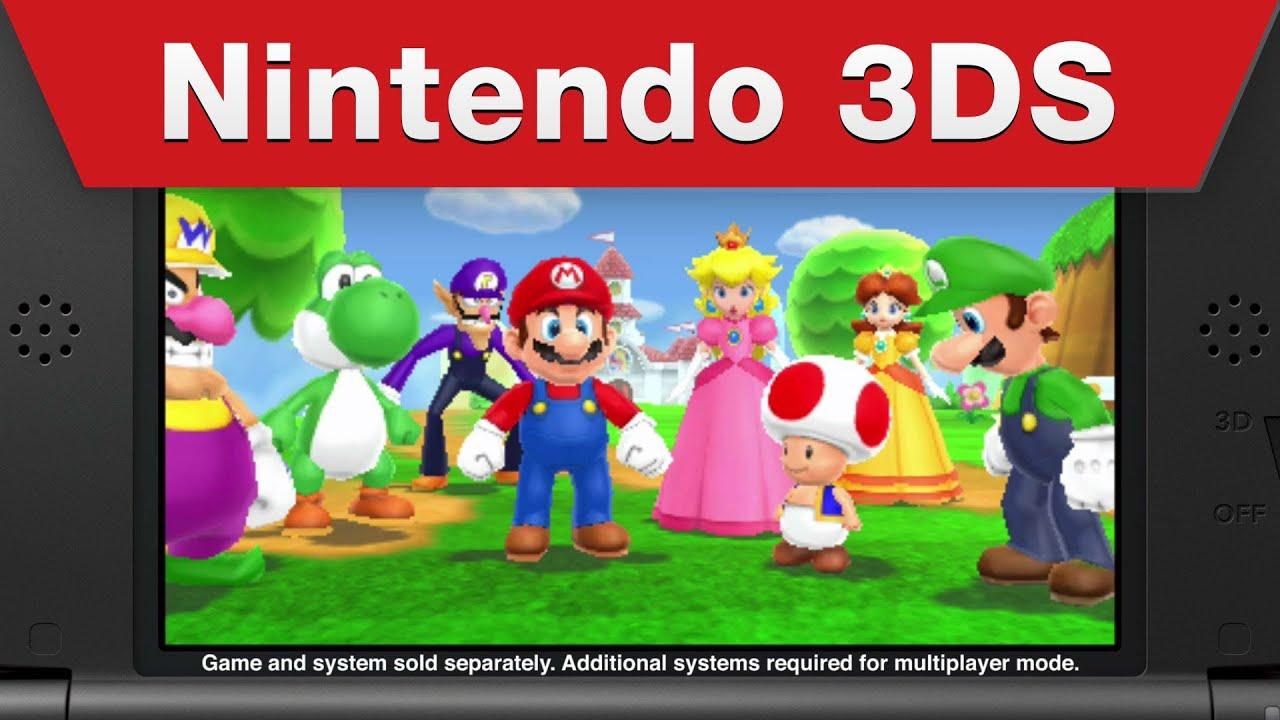 Mario Party Tour Island Ds