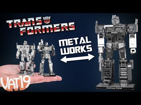 Mini Transformers Metal Models