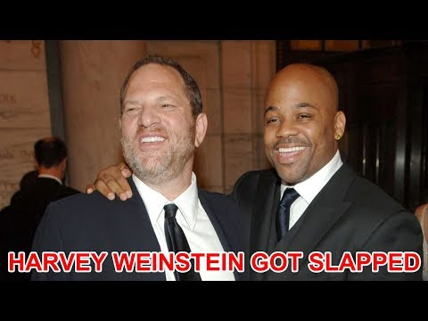 Harvey Weinstein got slapped by Damon Dash for disrespecting women