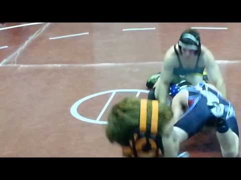 David McCright vs Choctaw kid 182 lbs.