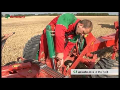 Kverneland Plough settings and Packomat