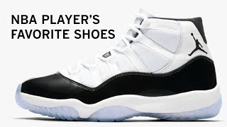 NBA players: What is your favorite shoe and shoe memory
