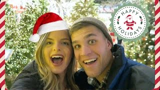BIGGEST CHRISTMAS STORE EVER!! Vlogmas Day 16 | Casey Holmes