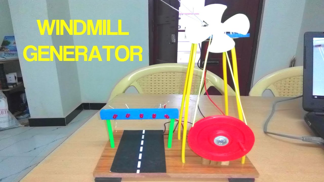 How To Make Windmill At Home Very Easy Free Energy Youtube