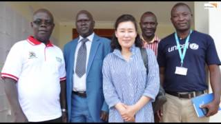 KOICA country director visits World Vision Uganda Abim Projects