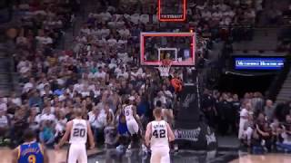 Ian Clark Buzzer Beater! | Warriors vs Spurs | May 20, 2017 NBA Playoff 2017