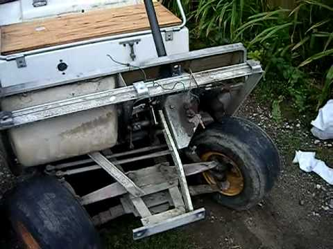 Club Cart Wiring Diagram Honda Accord Ecu Car Golfcart 36 Volt Dc Ride With The Dog - Youtube