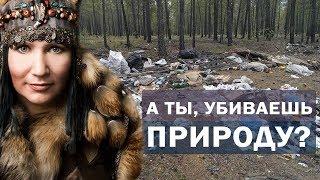 Мы убиваем природу! Алла Громова за чистый лес!