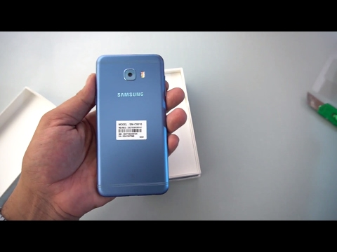 Samsung Galaxy C5 Pro UNBOXING  | Blue | [Urdu/Hindi]