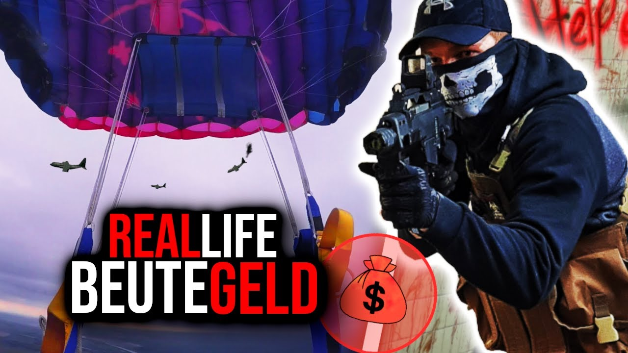 FINDEN WIR DAS GELD?💰 | Call of Duty BEUTEGELD in REAL LIFE!